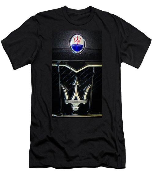 Maserati Badge Men's T-Shirt (Athletic Fit)