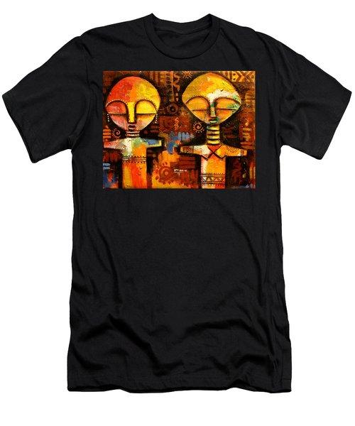 Mask 5 Men's T-Shirt (Athletic Fit)