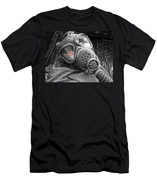 Masked Freedom Men's T-Shirt (Athletic Fit)