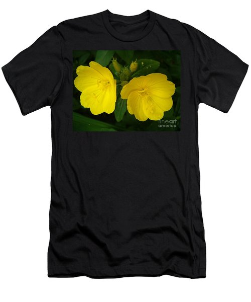 Men's T-Shirt (Slim Fit) featuring the photograph Matching Pair by Sara  Raber