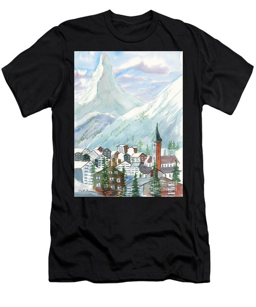 Matterhorn Men's T-Shirt (Athletic Fit)