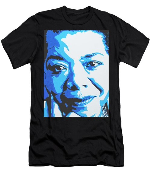 Maya Angelou Men's T-Shirt (Athletic Fit)
