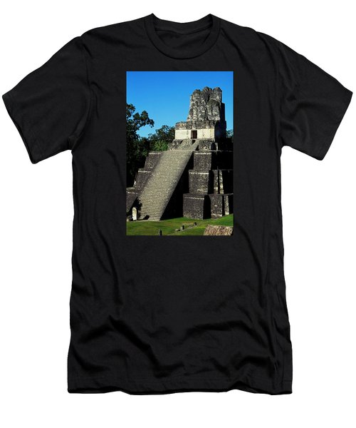 Mayan Ruins - Tikal Guatemala Men's T-Shirt (Athletic Fit)