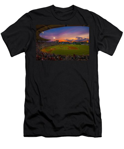 Mccoy Stadium Sunset Men's T-Shirt (Athletic Fit)
