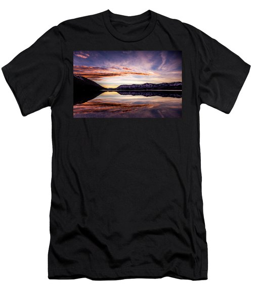 Mcdonald Palette Men's T-Shirt (Slim Fit) by Aaron Aldrich