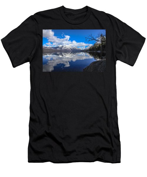 Mcdonald Reflecting Men's T-Shirt (Slim Fit)