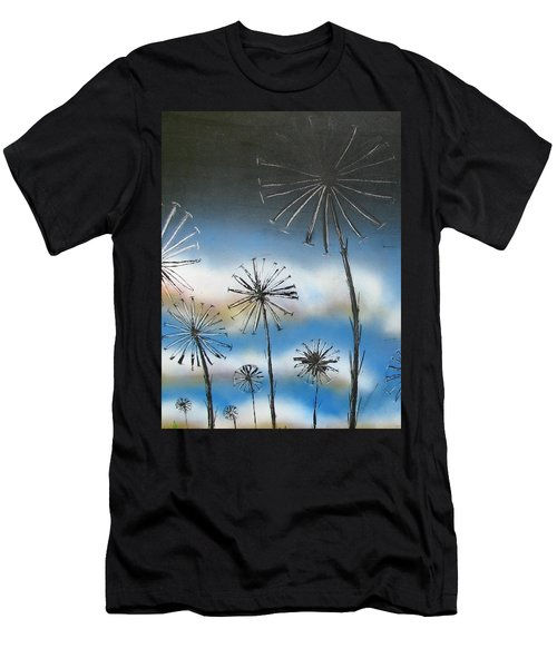 Meadow At Dawn Men's T-Shirt (Athletic Fit)