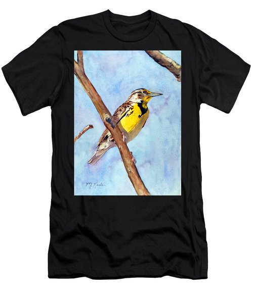 Meadowlark Sunrise Men's T-Shirt (Athletic Fit)
