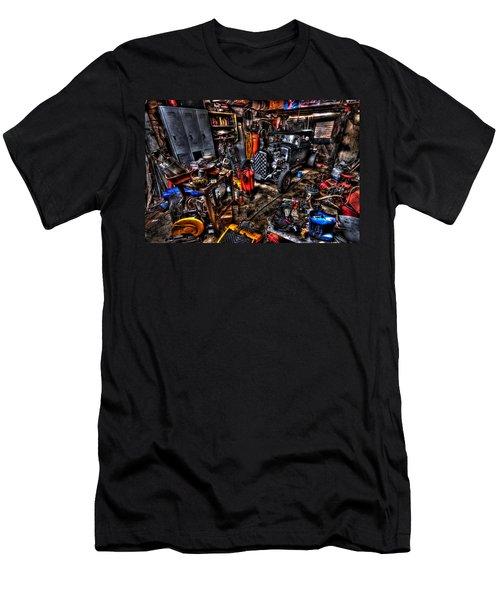 Mechanics Garage Men's T-Shirt (Athletic Fit)