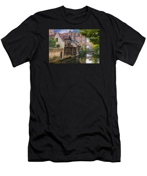 Medieval Bruges Men's T-Shirt (Athletic Fit)