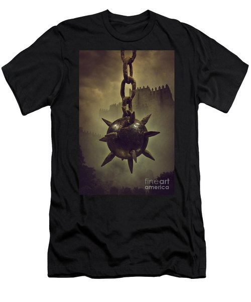 Medieval Spike Ball  Men's T-Shirt (Athletic Fit)