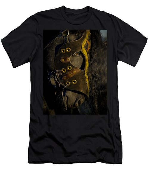 Medieval Stallion Men's T-Shirt (Slim Fit) by Wes and Dotty Weber