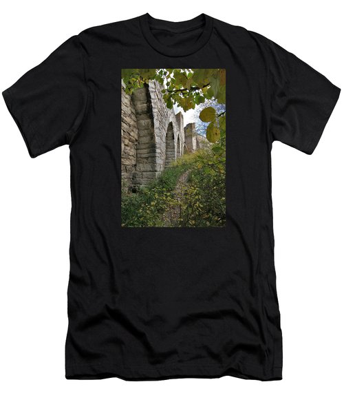 Medieval Town Wall Men's T-Shirt (Athletic Fit)