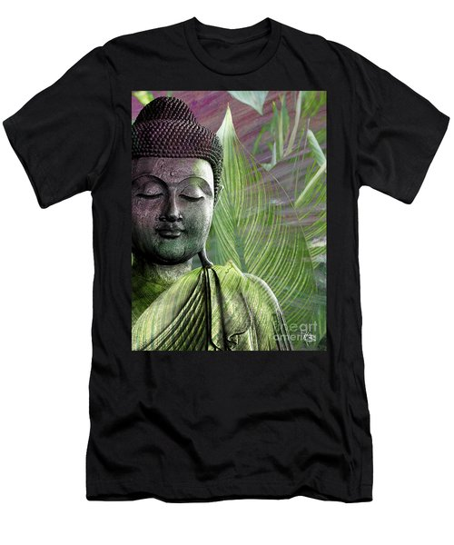 Meditation Vegetation Men's T-Shirt (Athletic Fit)
