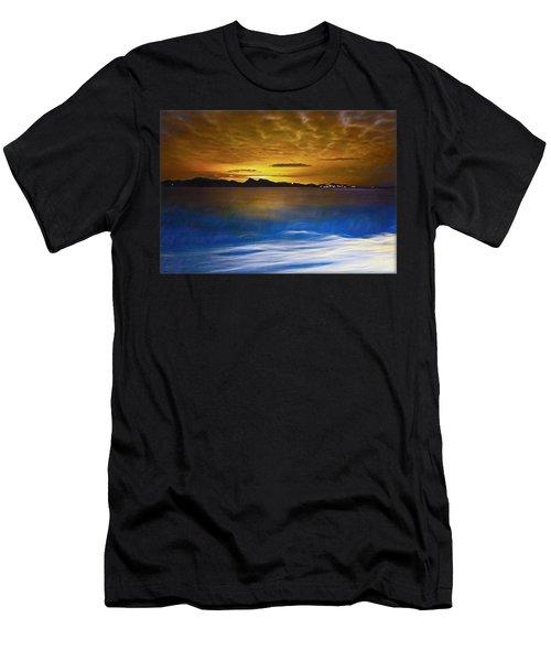 Mediterranean Sunrise Men's T-Shirt (Athletic Fit)
