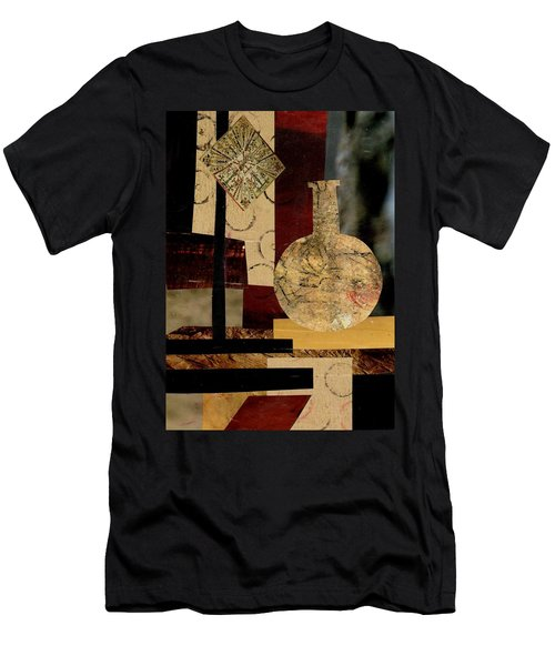 Mediterranean Vase Men's T-Shirt (Slim Fit) by Patricia Cleasby