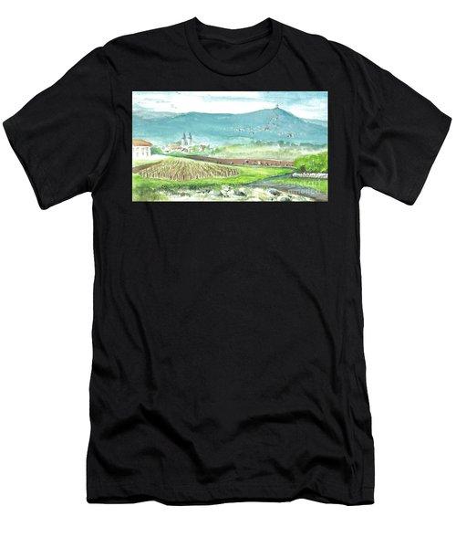 Medjugorje Fields Men's T-Shirt (Athletic Fit)