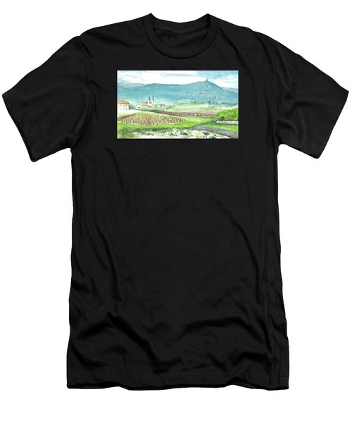 Medjugorje Fields Men's T-Shirt (Athletic Fit)