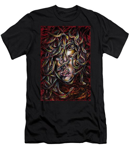 Medusa No. Three Men's T-Shirt (Slim Fit) by Hiroko Sakai