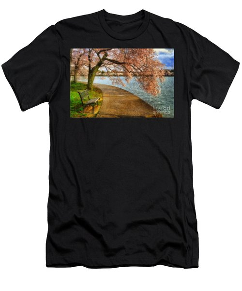 Meet Me At Our Bench Men's T-Shirt (Athletic Fit)