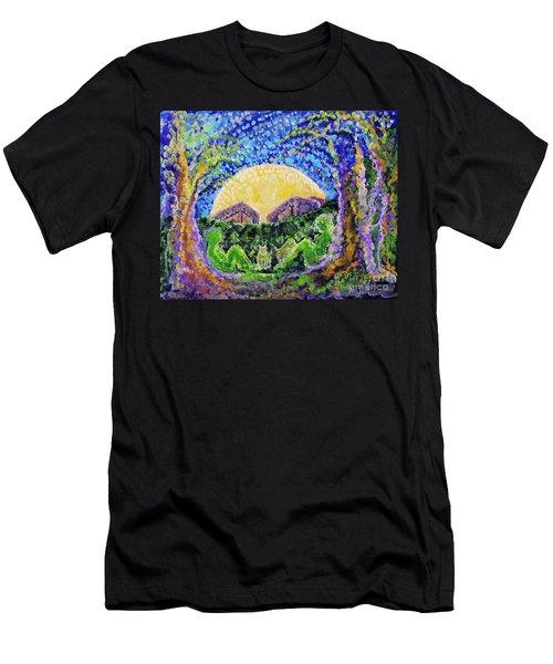 Meet Me Men's T-Shirt (Slim Fit) by Holly Carmichael