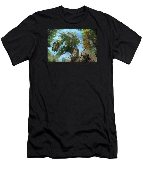 Megantic Sliver Men's T-Shirt (Athletic Fit)