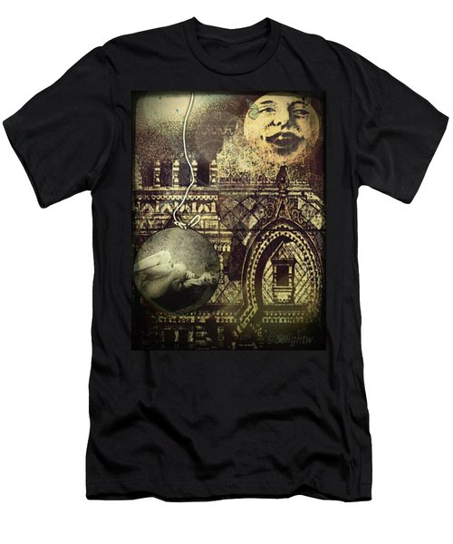 Melies Man In The Moon Men's T-Shirt (Athletic Fit)