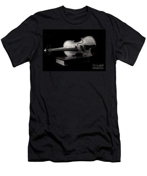 Melodiously Poetic Men's T-Shirt (Slim Fit) by Erika Weber