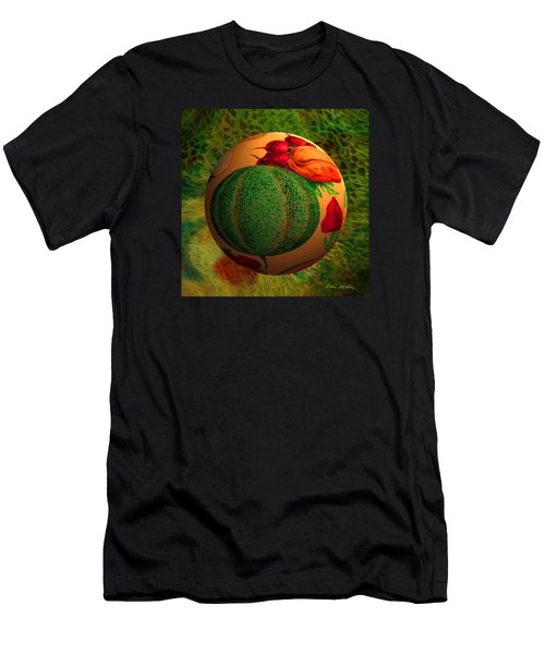 Melon Ball  Men's T-Shirt (Athletic Fit)