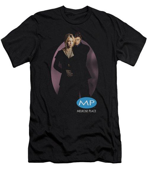 Melrose Place - Kiss Men's T-Shirt (Athletic Fit)