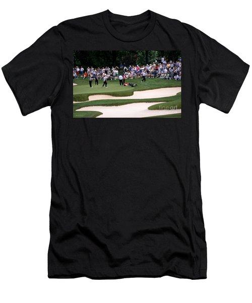 12w192 Memorial Tournament Photo Men's T-Shirt (Athletic Fit)