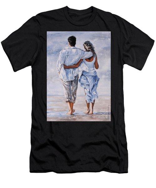 Memories Of Love Men's T-Shirt (Athletic Fit)