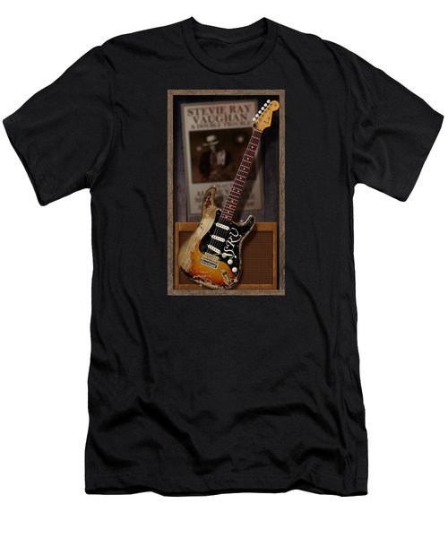 Men's T-Shirt (Slim Fit) featuring the digital art Memories Of Stevie by WB Johnston