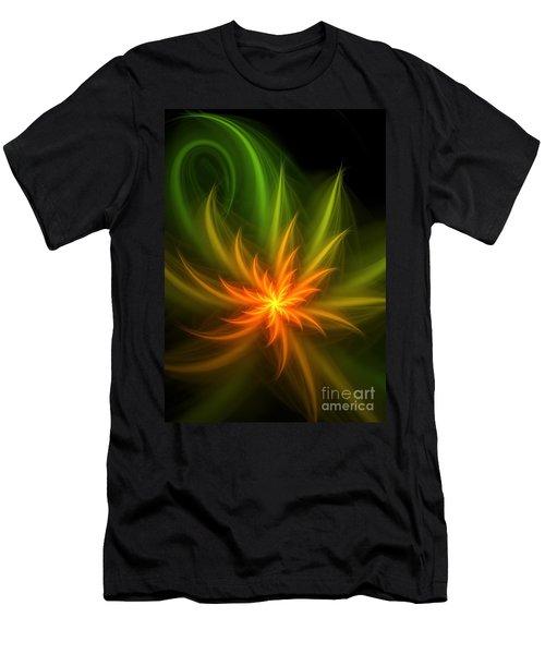Men's T-Shirt (Slim Fit) featuring the digital art Memory Of Spring by Svetlana Nikolova