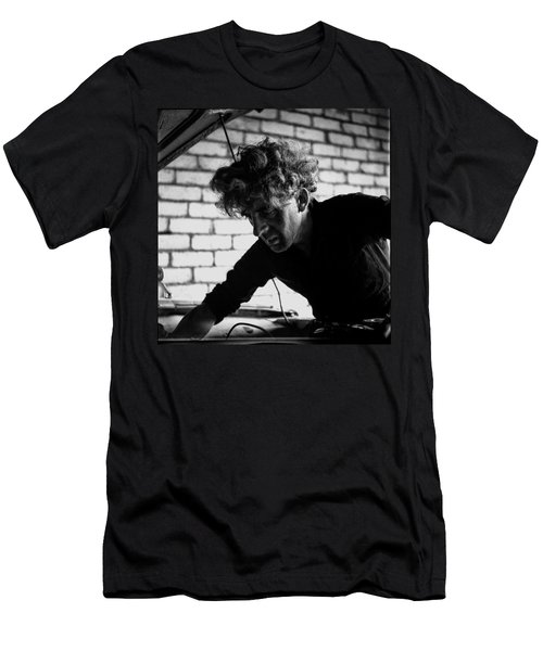 Men's T-Shirt (Slim Fit) featuring the photograph Men At Work - Series I by Doc Braham
