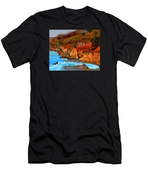 Mendocino Coast Men's T-Shirt (Athletic Fit)