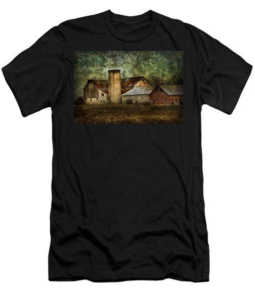 Mennonite Farm In Tennessee Usa Men's T-Shirt (Athletic Fit)