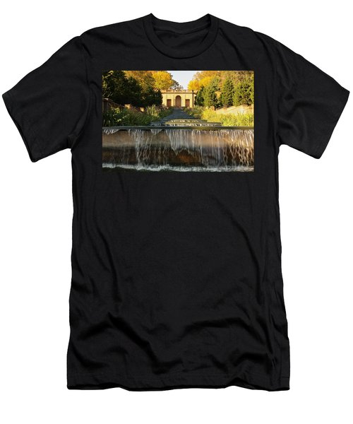 Meridian Hill Park Waterfall Men's T-Shirt (Athletic Fit)