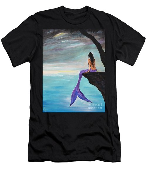Mermaid Oasis Men's T-Shirt (Athletic Fit)
