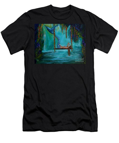 Mermaids Tranquility Men's T-Shirt (Athletic Fit)