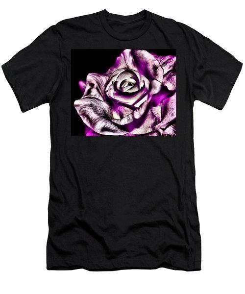 Mesmerizing Rose Men's T-Shirt (Athletic Fit)