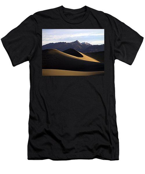 Men's T-Shirt (Slim Fit) featuring the photograph Mesquite Dunes At Dawn by Joe Schofield