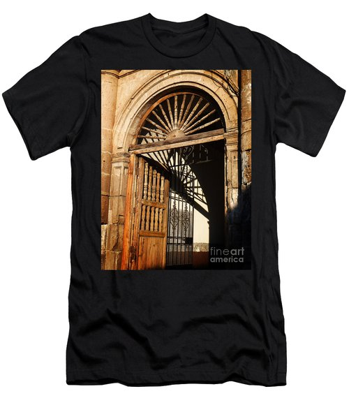 Mexican Door 27 Men's T-Shirt (Athletic Fit)