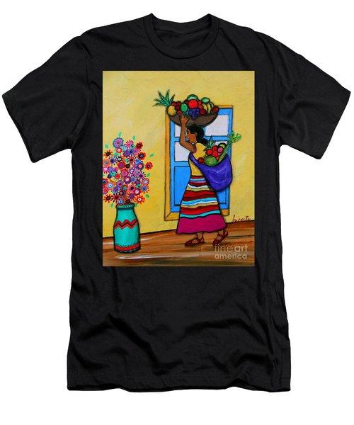 Mexican Street Vendor Men's T-Shirt (Athletic Fit)