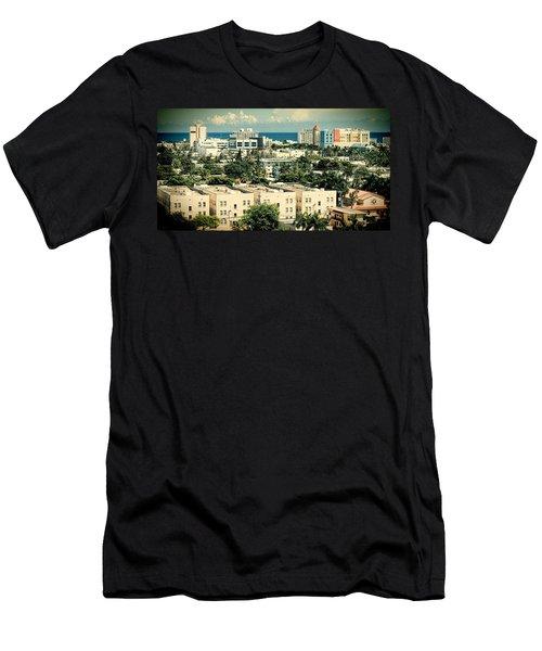 Miami Beach-0156 Men's T-Shirt (Athletic Fit)