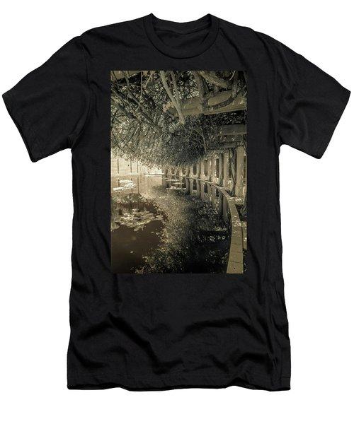 Miami Beach Lake 2 Men's T-Shirt (Athletic Fit)