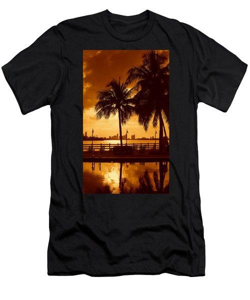 Miami South Beach Romance II Men's T-Shirt (Athletic Fit)