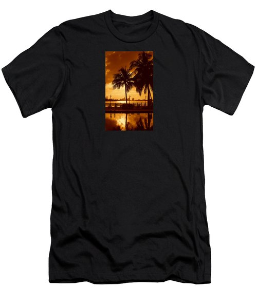 Miami South Beach Romance II Men's T-Shirt (Athletic Fit)