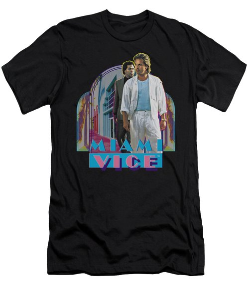 Miami Vice - Miami Heat Men's T-Shirt (Athletic Fit)