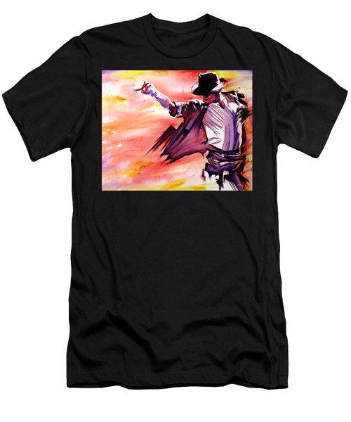 Michael Jackson-billie Jean Men's T-Shirt (Athletic Fit)